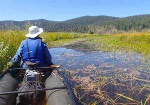 Canoeing at Fourmile Creek – Klamath Basin, OR