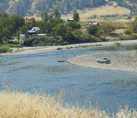 Salmon River Suction Dredging